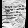 Why Should I Be Grateful?
