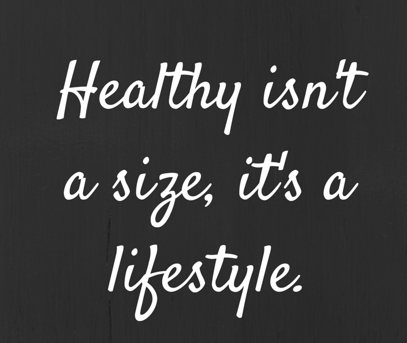 Healthy is…